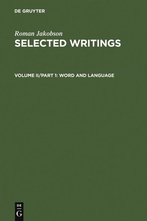 Word and Language cover