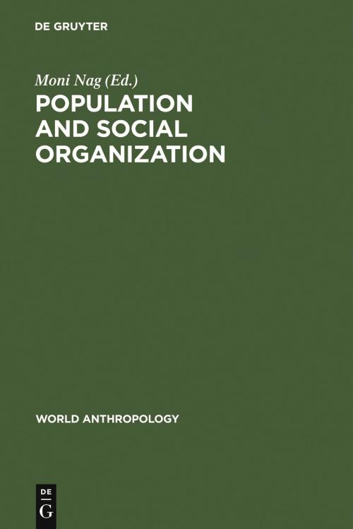 Population and Social Organization cover