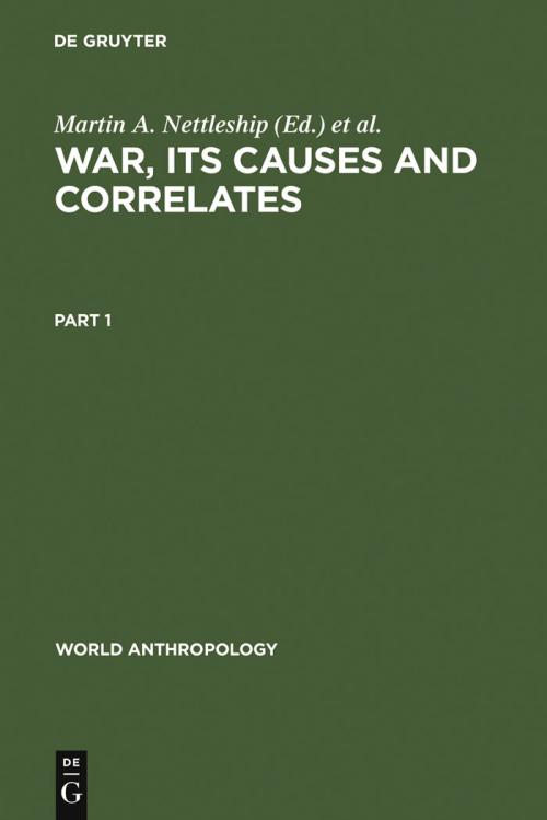 War, its Causes and Correlates cover