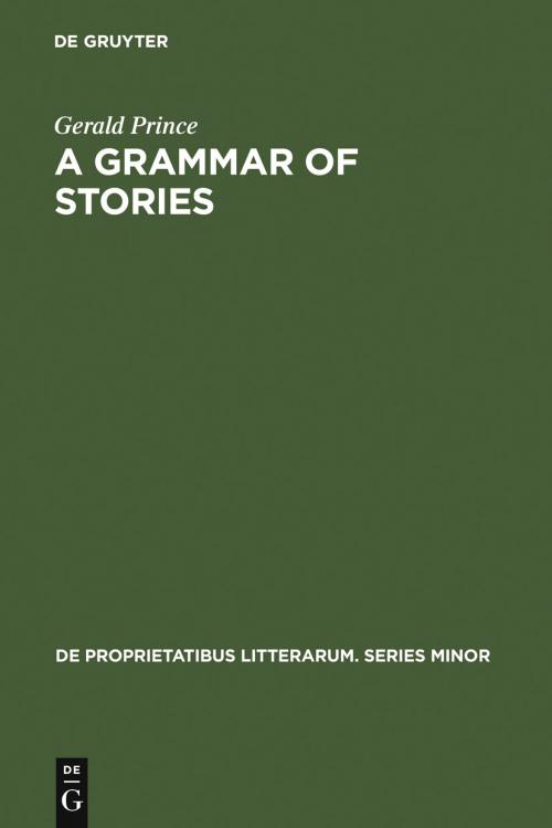 A Grammar of Stories cover