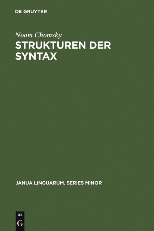 Strukturen der Syntax cover