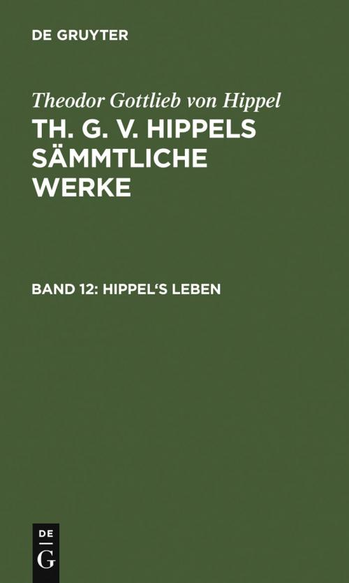 Hippel's Leben cover