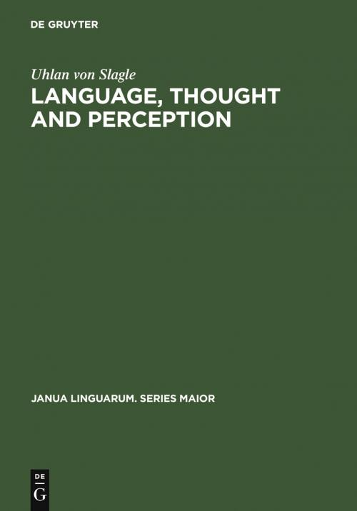 Language, Thought and Perception cover