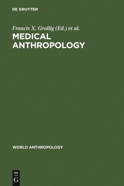 Medical Anthropology cover