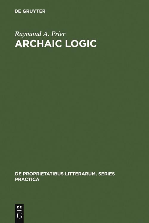 Archaic Logic cover