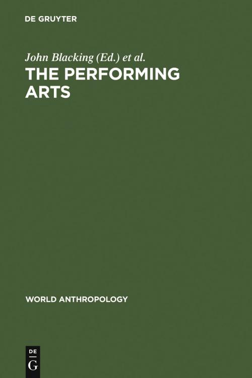 The Performing Arts cover