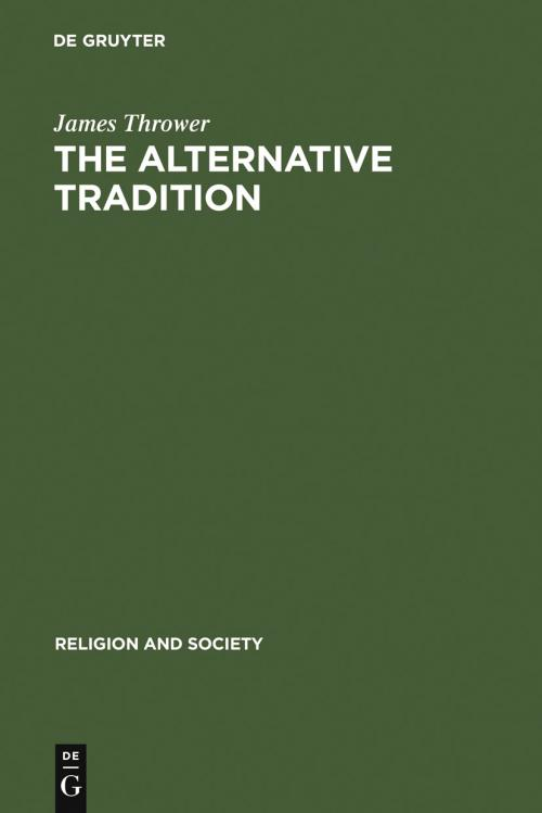 The Alternative Tradition cover