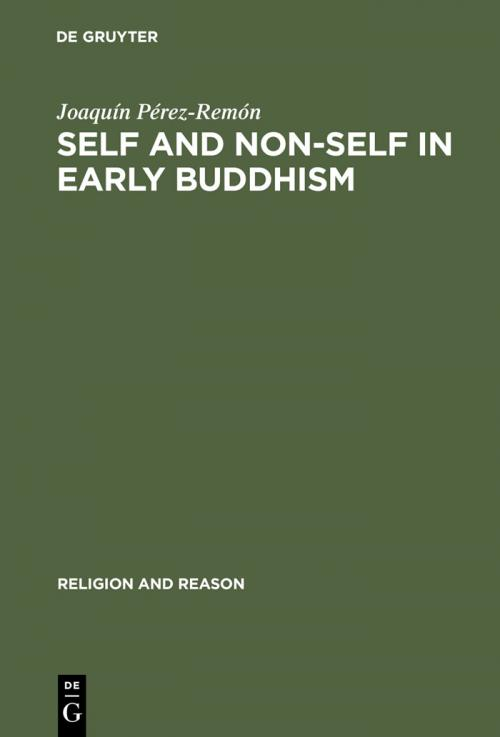 Self and Non-Self in Early Buddhism cover