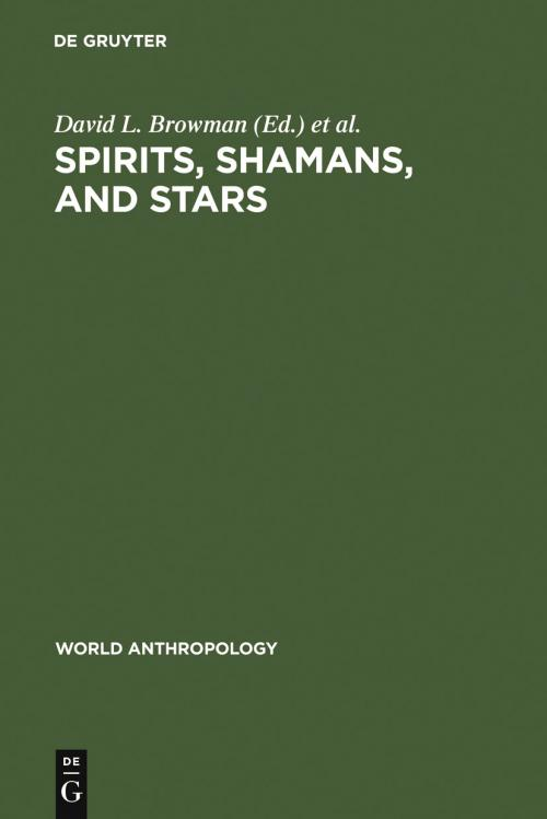 Spirits, Shamans, and Stars cover