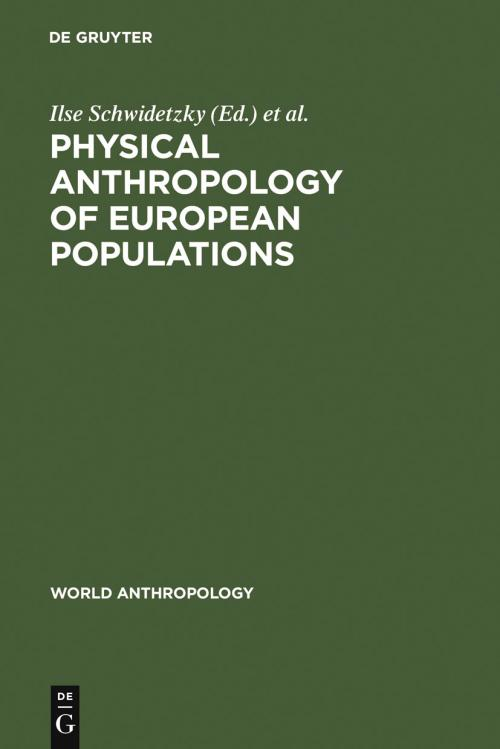 Physical Anthropology of European Populations cover