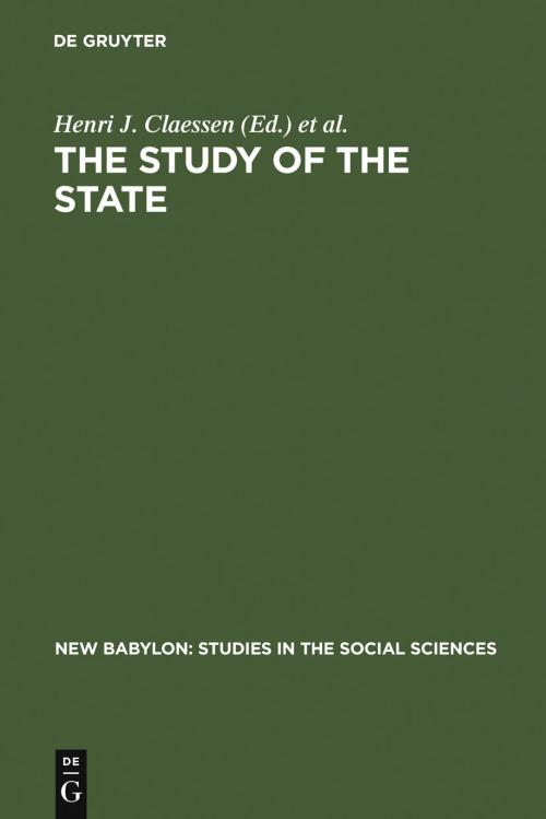The Study of the State cover