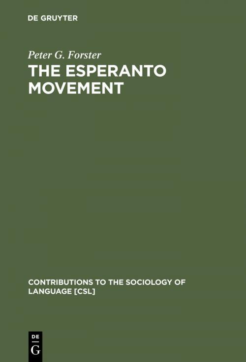 The Esperanto Movement cover