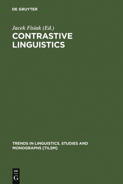 Contrastive Linguistics cover