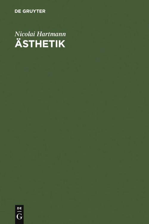 Ästhetik cover