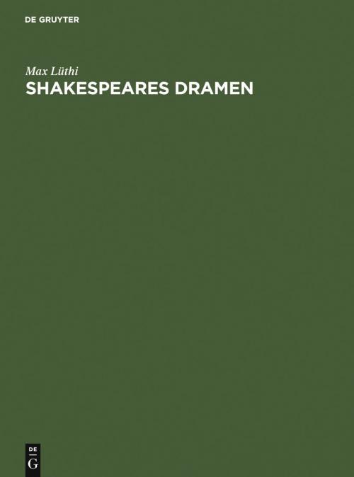 Shakespeares Dramen cover