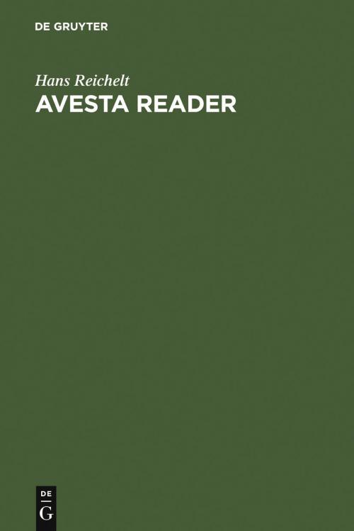 Avesta Reader cover