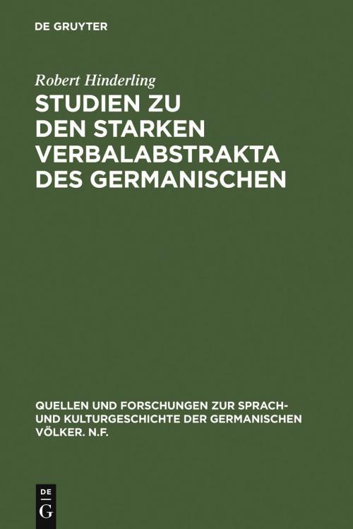 Studien zu den starken Verbalabstrakta des Germanischen cover