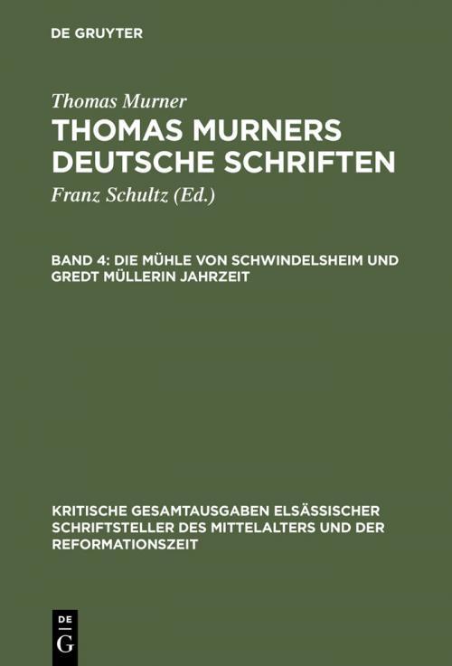 Die Mühle von Schwindelsheim und Gredt Müllerin Jahrzeit cover