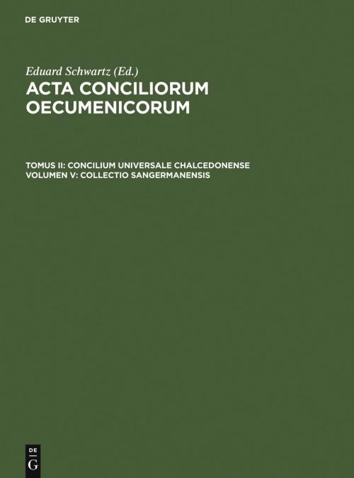 Collectio Sangermanensis cover