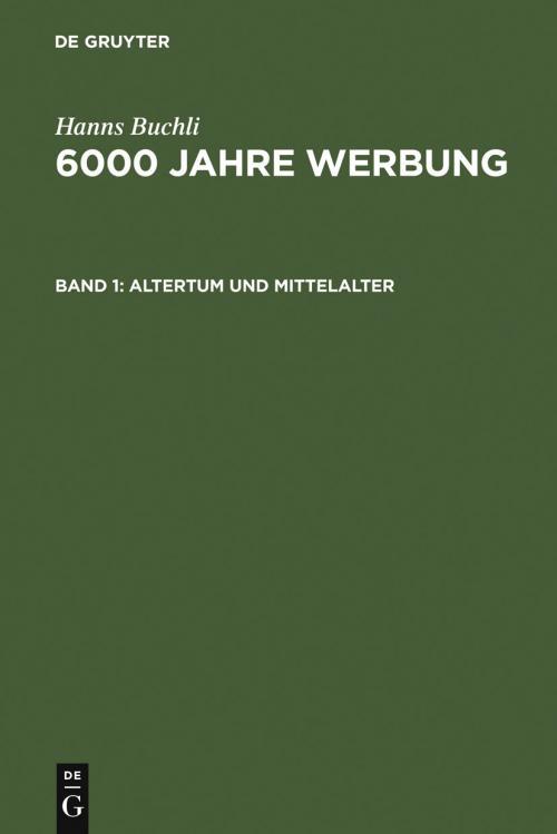 Altertum und Mittelalter cover