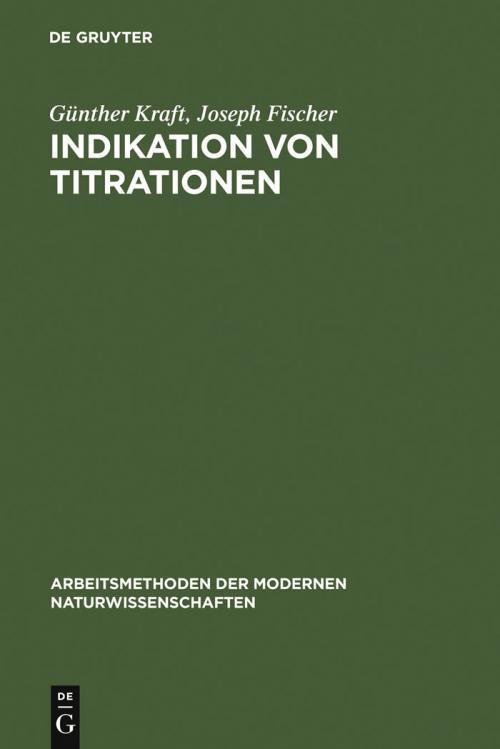 Indikation von Titrationen cover