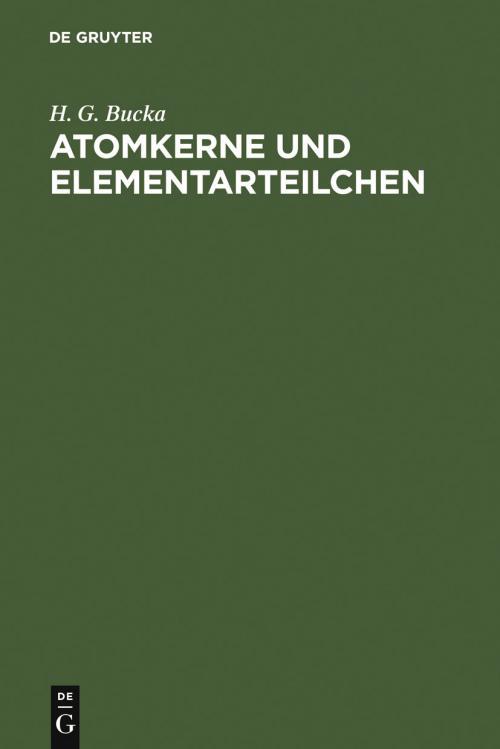 Atomkerne und Elementarteilchen cover