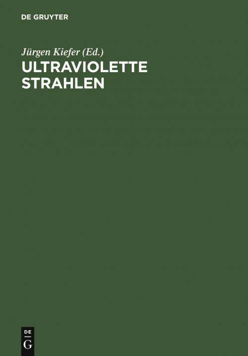 Ultraviolette Strahlen cover