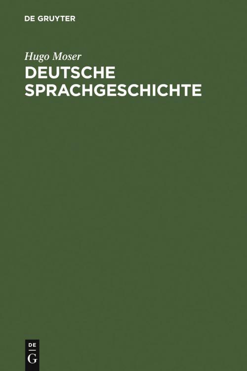 Deutsche Sprachgeschichte cover