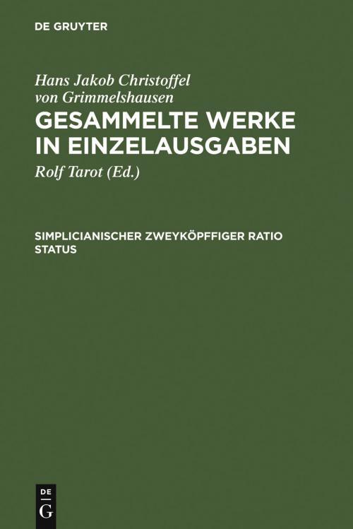Simplicianischer Zweyköpffiger Ratio Status cover