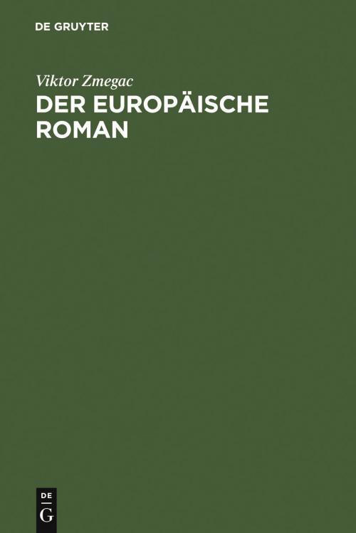 Der europäische Roman cover