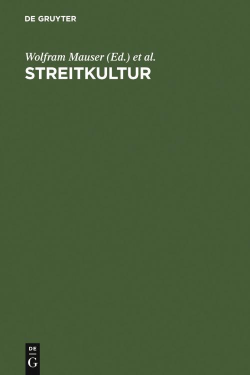 Streitkultur cover