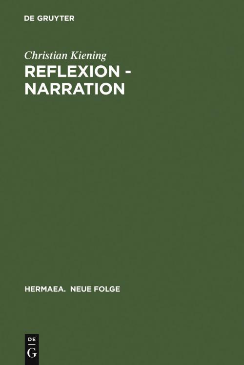Reflexion - Narration cover