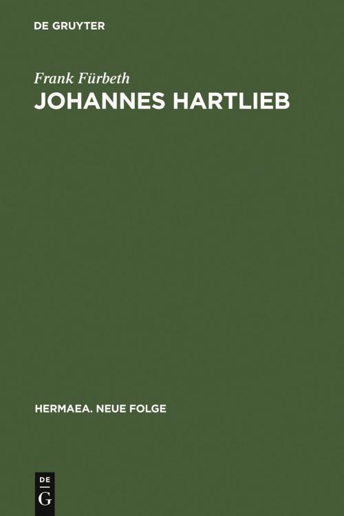 Johannes Hartlieb cover