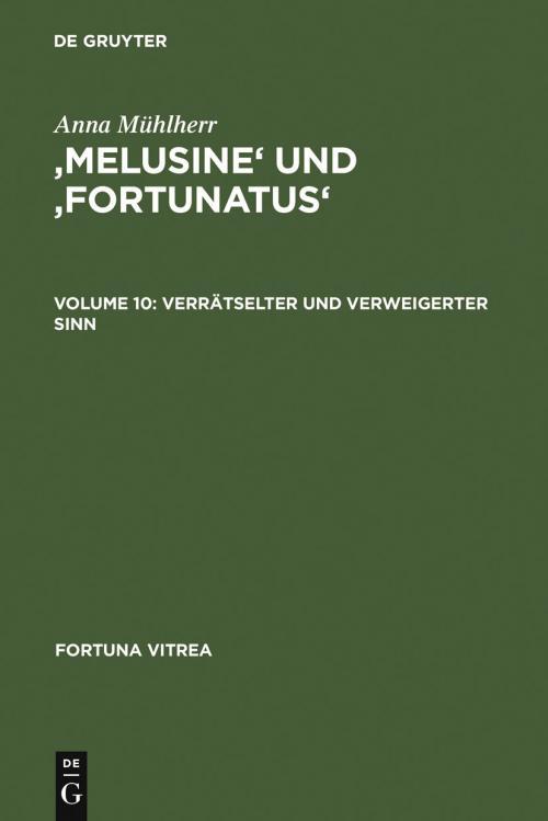 'Melusine' und 'Fortunatus' cover