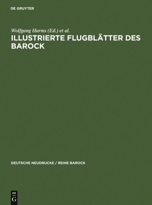 Illustrierte Flugblätter des Barock cover