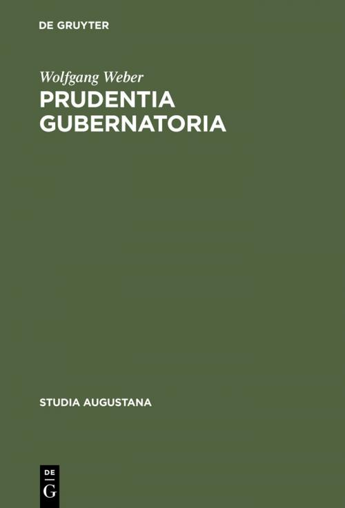 Prudentia gubernatoria cover