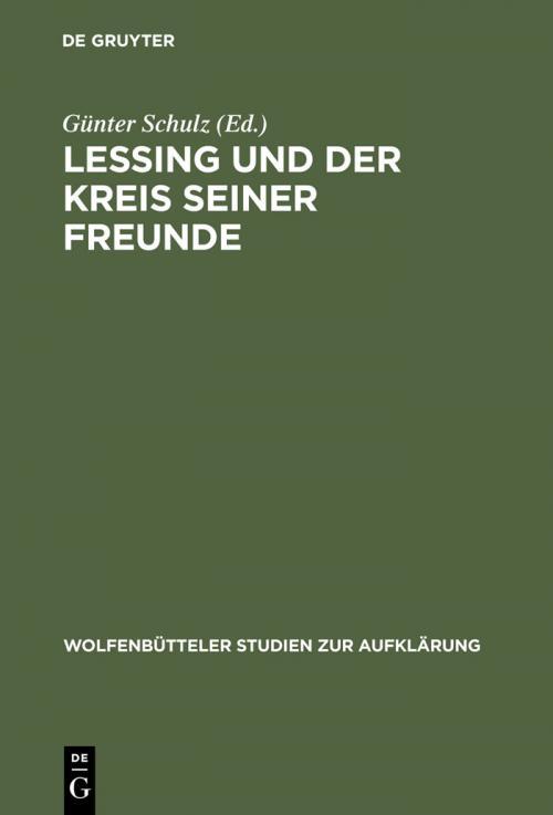 Lessing und der Kreis seiner Freunde cover
