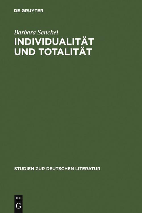 Individualität und Totalität cover
