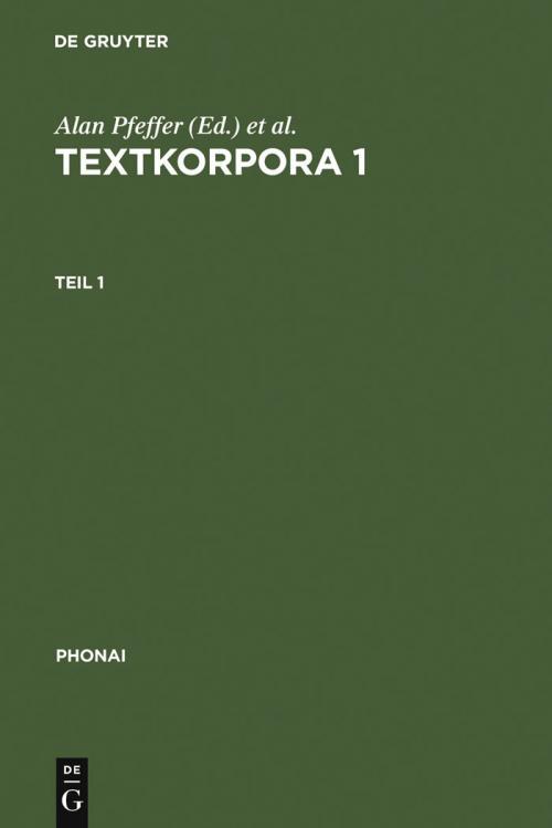 Textkorpora 1 cover