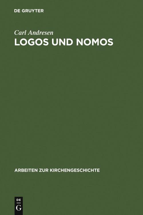Logos und Nomos cover