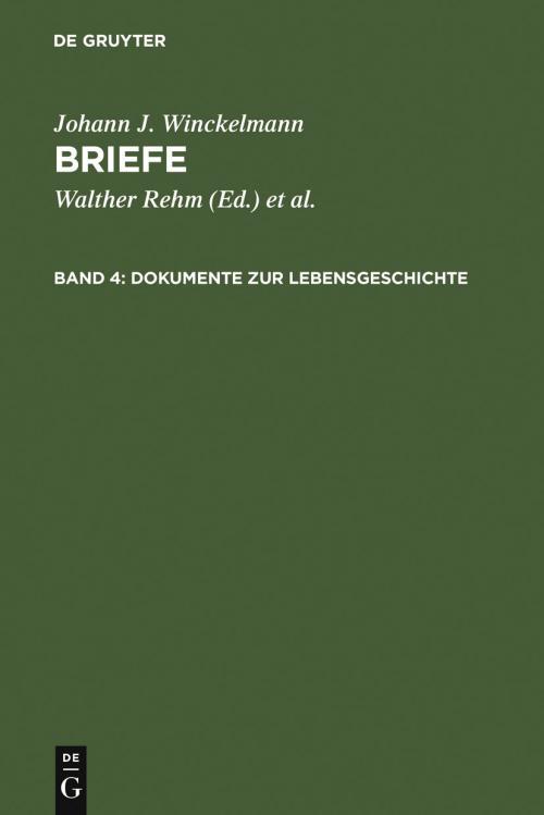 Dokumente zur Lebensgeschichte cover