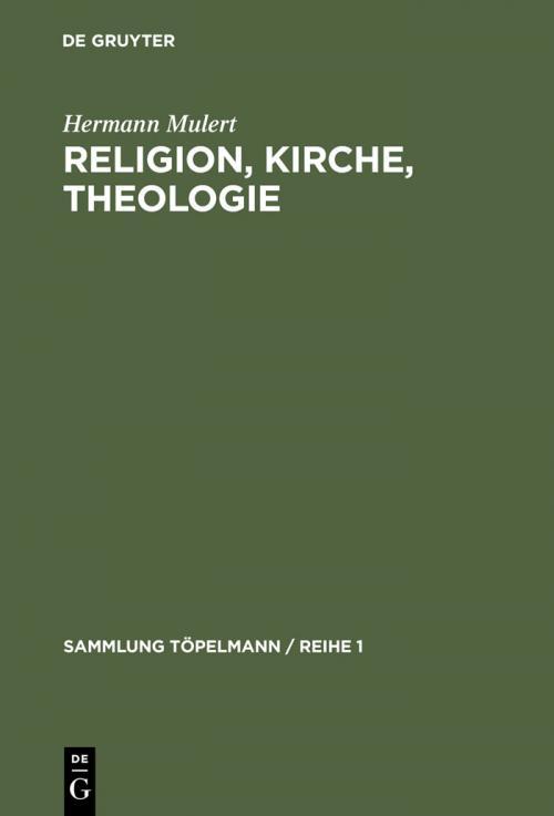 Religion, Kirche, Theologie cover