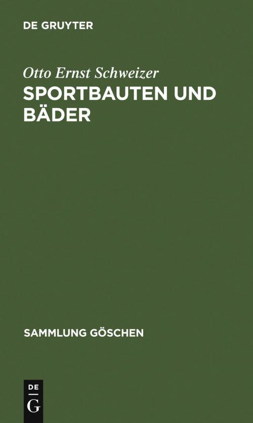 Sportbauten und Bäder cover