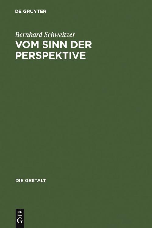 Vom Sinn der Perspektive cover