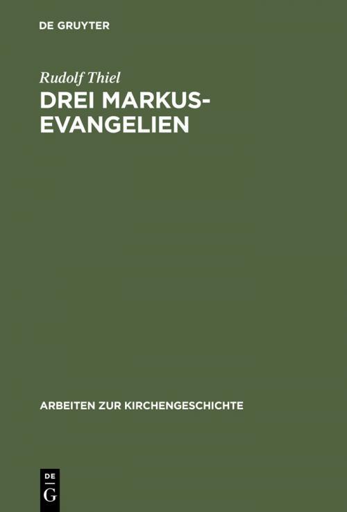 Drei Markus-Evangelien cover