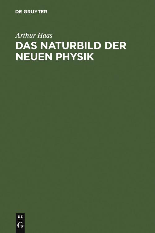 Das Naturbild der neuen Physik cover