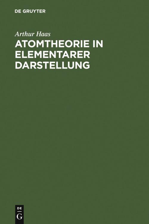 Atomtheorie in elementarer Darstellung cover