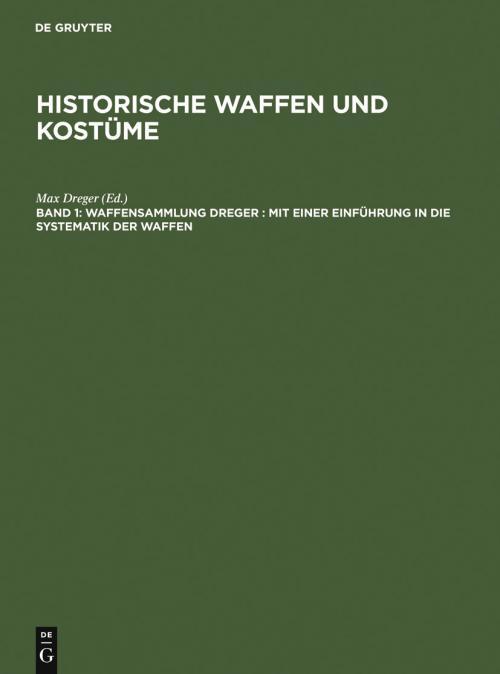 Waffensammlung Dreger cover