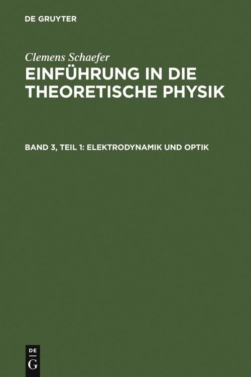 Elektrodynamik und Optik cover