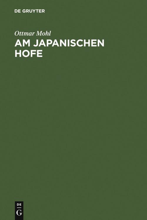 Am japanischen Hofe cover